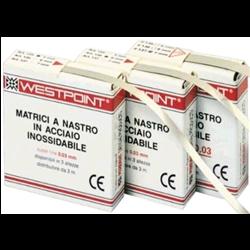MATRICI WESTPOINT NASTRO INOX 0,05 FINE 6mm 3mt