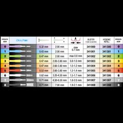 ORALPROX SCOVOLINI MIS.8 NERI 341308
